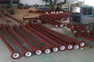 POLYPROPELYNE LINED STEEL PIPES FOR CORROSIVE FLUID HANDALING